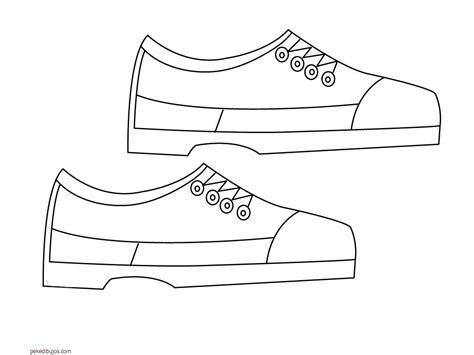 imagenes infantiles de zapatos para colorear dibujos de zapatos para colorear