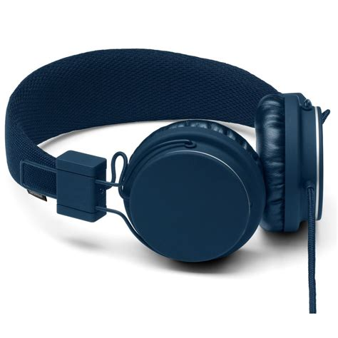 Headset Urbanears urbanears plattan on ear stereo headphones indigo ligo