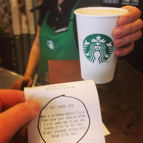 Handcrafted Starbucks Drinks - starbucks canada get any handcrafted drink for 2 after