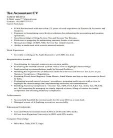 Resume Sles For Experienced Accountant 33 Accountant Resume Sles