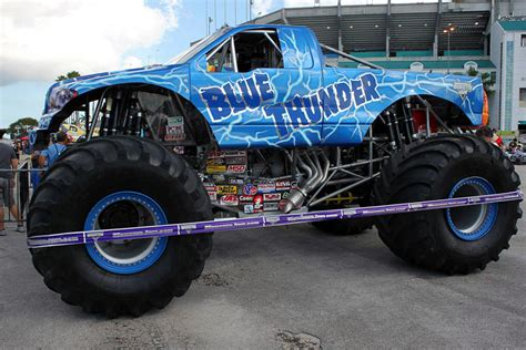 2014 monster jam trucks monster truck blue thunder 2014 www pixshark com