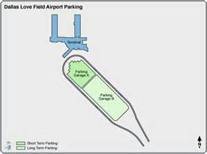 Dallas Love Field Airport Map by Dallas Love Field Airport Parking Dal Airport Long Term