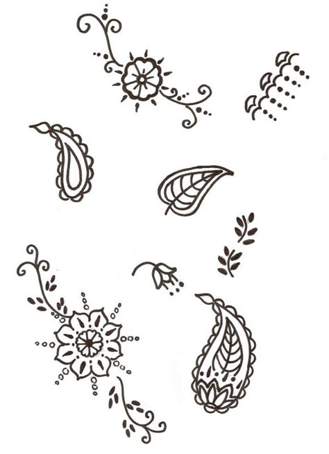 easy beginner tattoo patterns simple henna design for beginners google search henna