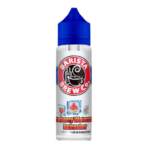 E Juice Liquid Vape Us Barista Brew Coffee Flavor barista brew frozen strawberry watermelon refresher liquid