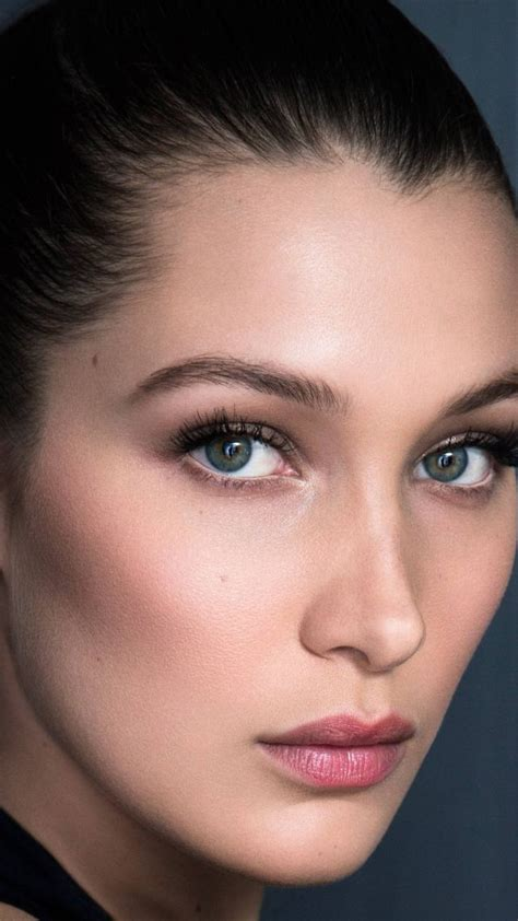 most desired face shape for models wallpaper bella hadid face most popular celebs actress