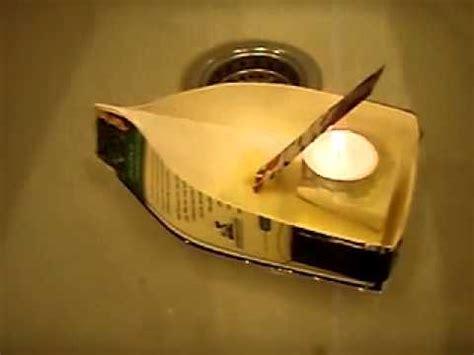 how to make a pop pop boat youtube barco de vapor pop pop boat youtube