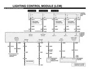 1993 Lincoln Town Car Lighting Module Repair Guides Lighting Systems 2001 Lighting