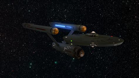 starship enterprise model with lights restored starship enterprise model w lighting fx by