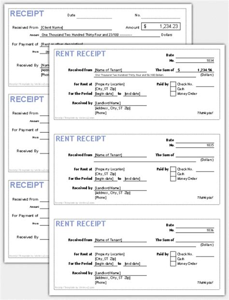 pre paid rent receipt template how to fill out a receipt for zanouba