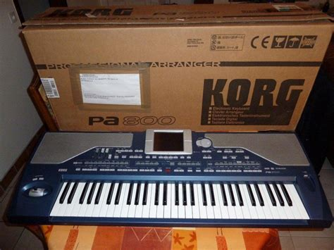 Keyboard Korg Pa50sd Second korg pa800 image 143162 audiofanzine