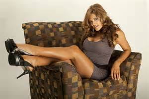 Eve torres putting her feet up womenofwrestling