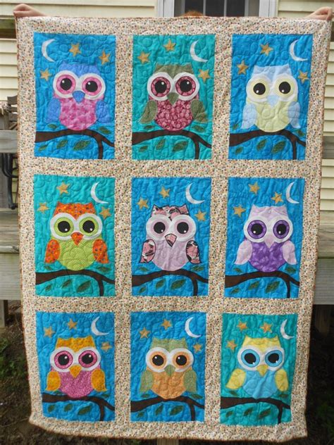 Owl Patchwork Patterns - 17 best ideas about owl quilt pattern on owl