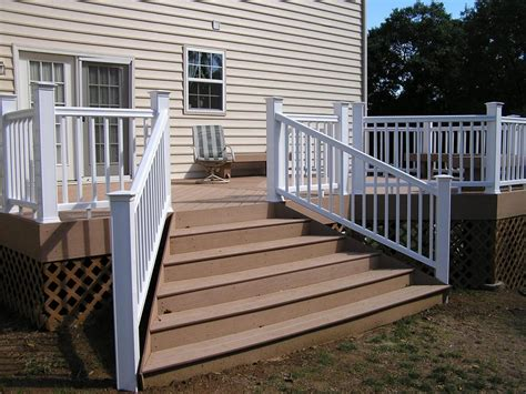 outdoor banister stairs inspiring outdoor stair railing outdoor vinyl