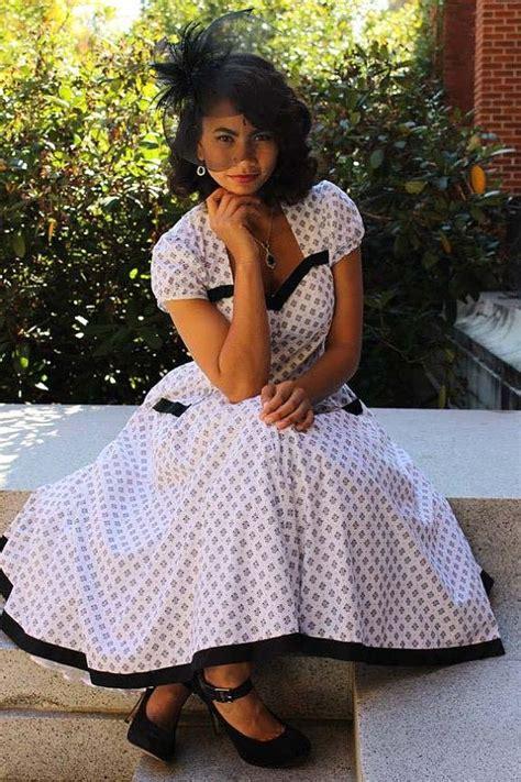 rockabilly swing dress pattern womens sewing dress pattern swing rockabilly tia sew chic 1312