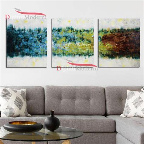 quadri ufficio quadri su tela astratti colorati dipinti a mano arredo