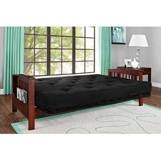cherry wood futon essential home heritage convertible futon with cherry wood