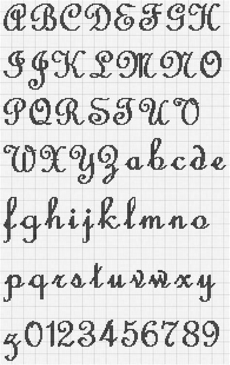 javascript pattern alphabet cross stitch alphabet pattern ponto cruz pinterest