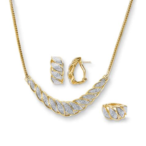 3 jewelry set 1 4 cttw perfectly matched