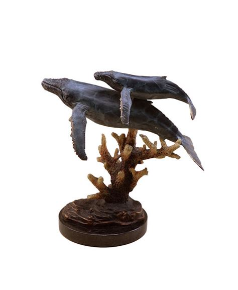 spi home decor humpback whales sculpture by spi home 341 you save 98 00