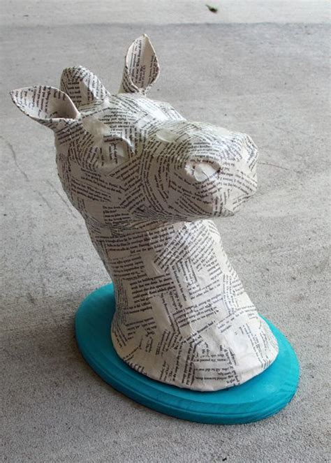 Make Animal Sculptures With Paper Mache Clay - 44 best images about papier mache animals on