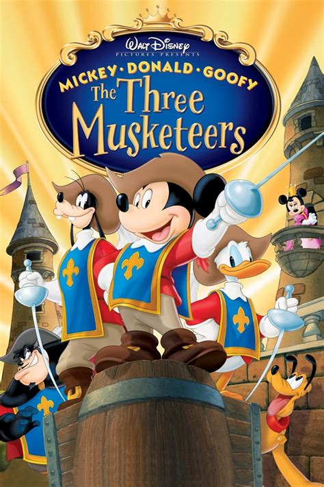 goofy the subscene mickey donald goofy the three musketeers hearing impaired subtitle