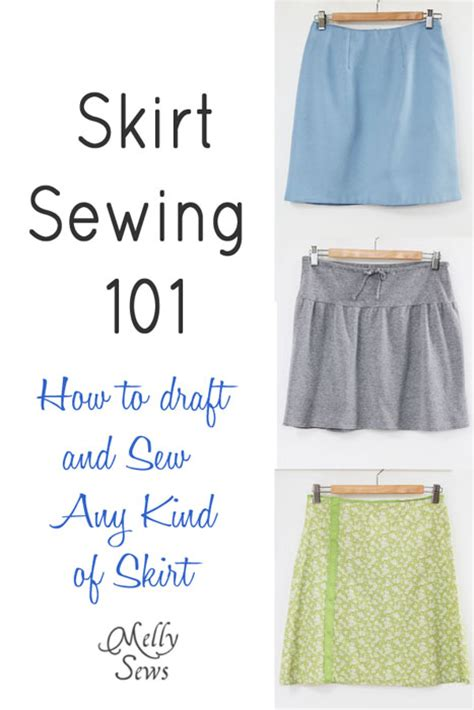 pattern making skirt how to draft and sew a skirt melly sews