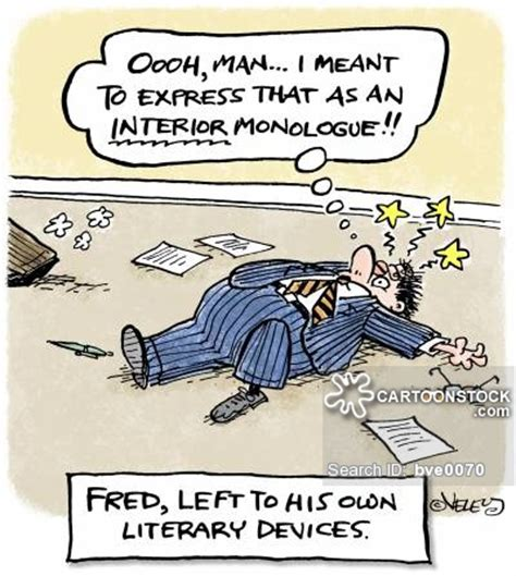 Define Interior Monologue by Literary Device And Comics Pictures From