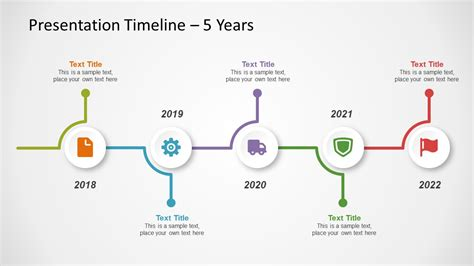Free Timeline Template For Powerpoint Slidemodel Timeline Powerpoint Templates