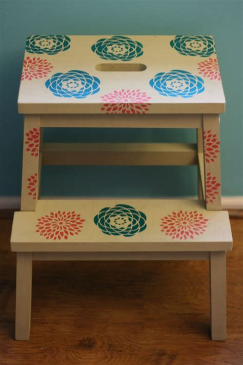bekvam stool from drab to fab ikea bekvam stool makeover hello