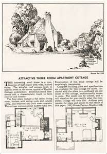 1935 eclectic english cottage ladies home journal