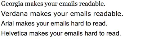 business letters font here are 2 fonts that make your emails readable and 2