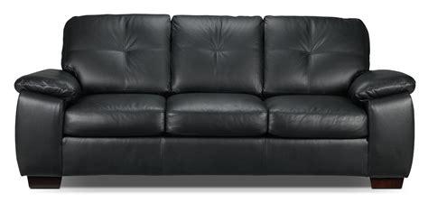 naples leather sofa canada naples sofa black s