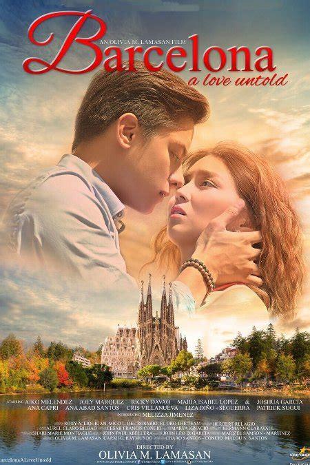 Barcelona A Love Untold Movie | cinema com my barcelona a love untold