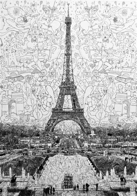 manic doodle drawings by sagaki keita dense doodle drawings from sagaki keita shelby white