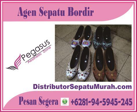 Sepatu Dc Malang sepatu bordir murah kedai kasut wanita 6281 945 945 245 flat shoes flats and
