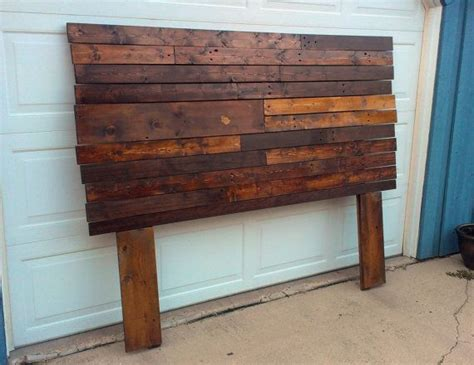 diy headboard reclaimed wood reclaimed headboard wood working pinterest reclaimed