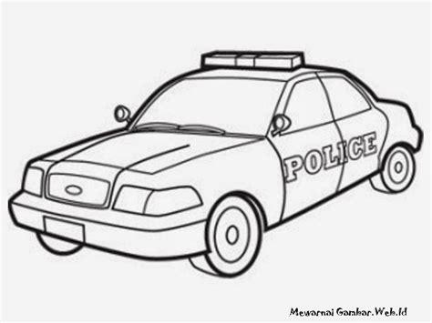 mewarnai gambar polisi gambar mewarnai auto design tech