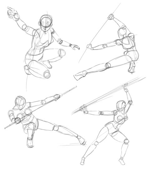 Drawing References Poses by Poses 20sec Sketches Tips