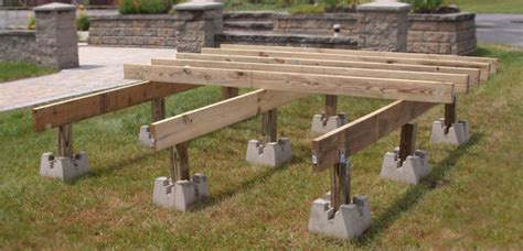 Using Pier Blocks For Deck Building Mycoffeepot Org