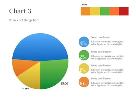 Pie Chart Powerpoint Template Free Free Powerpoint Charts And Graphs Templates