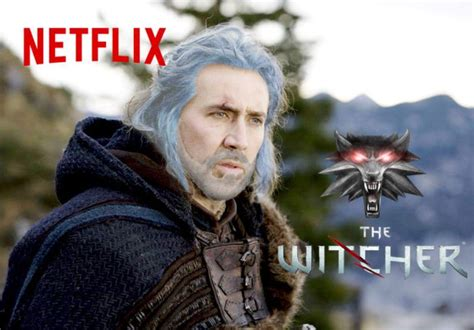 netflix  witcher tv series   works  related