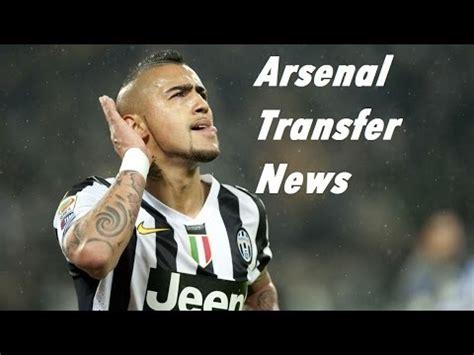 arsenal news transfer arsenal transfer news vidal podolski more youtube
