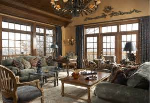english manor house in edina traditional family room