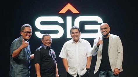 perkenalkan logo  semen indonesia  menjadi sig