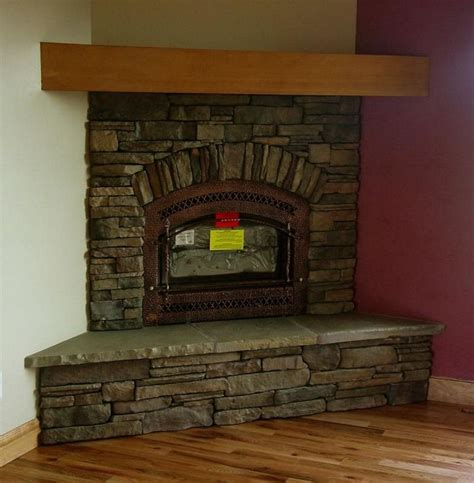 17 best ideas about corner fireplace mantels on