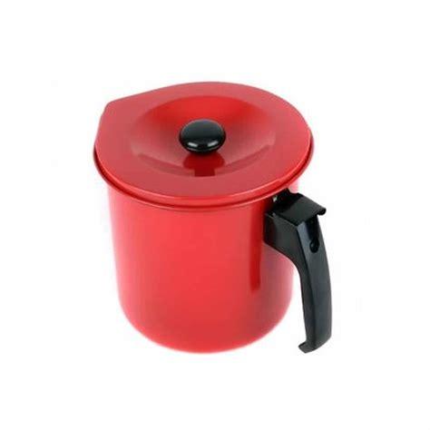 kitchen pot maslon 1 5 l tempat minyak dengan saringan dapurnesia