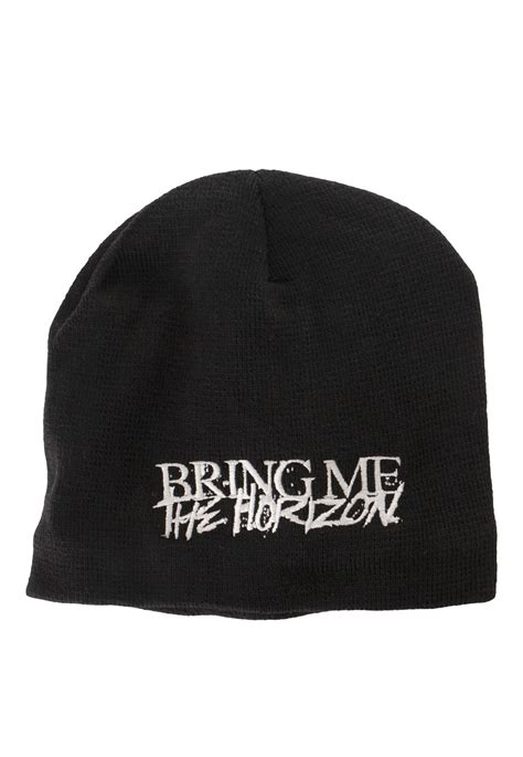 Bring On The Beanies by Bring Me The Horizon Logo Beanie Official Rock