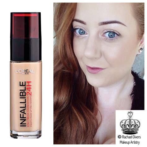 Review Dan Foundation Loreal L Oreal Infallible 24h Stay Fresh Foundation Review