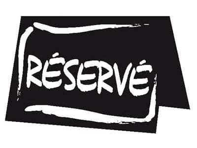 reserve a table chevalet de table r 233 serv 233 x10 meilleurduchef