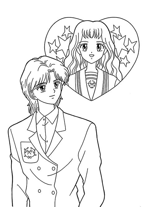 girl and boy coloring page az coloring pages
